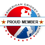 Proud Member of American Cricket Federation - www.americancricketfederation.org