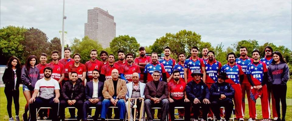 American College Cricket Usa Vs Canada Series Arrives In